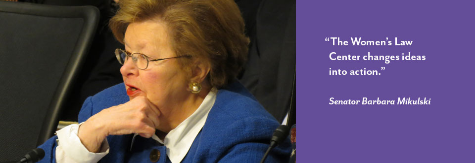 Photo of Maryland Senator Mikulski