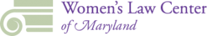 The Women's Law Center of Maryland Logo